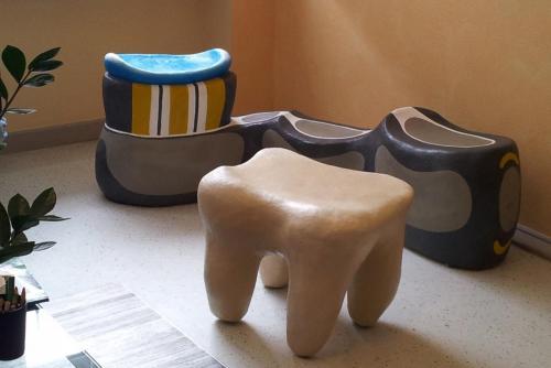 Sitzgruppe Zahnarztpraxis